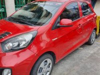Red Kia Picanto 2015 for sale in Manila