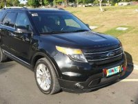 Black Ford Explorer 2013 for sale in Plaridel