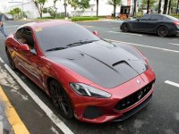 Red Maserati GranTurismo MC 2019 for sale in Pasig