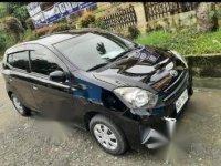 Selling Black Toyota Wigo 2016 in Calamba