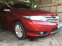 Red Honda City 2012 for sale in Bangar