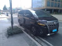 Sell Black 2019 Toyota Alphard in Manila