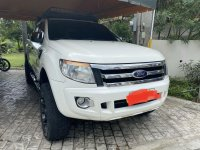 Selling White Ford Ranger XLT 2014 in Davao