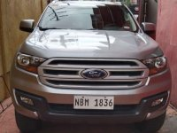 Selling Silver Ford Everest 2018 in Parañaque