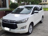 White Toyota Innova 2018 for sale in Bacoor
