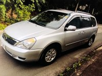 Selling Silver Kia Carnival 2012 in Quezon City