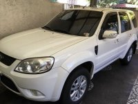 White Ford Escape 2011 for sale in Quezon City