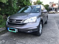 Silver Honda Cr-V 2011 for sale in Las Pinas