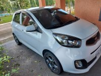 White Kia Picanto 2015 for sale in Calamba