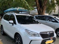 Pearl White Subaru Forester 2013 for sale in Quezon City