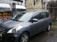 Selling Grey Suzuki Ertiga 2017 in Quezon City