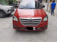 Sell Red 2016 Toyota Innova in Makati