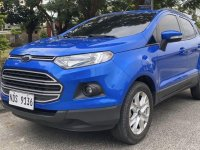 Blue Ford Ecosport 2016 for sale in Manila