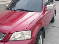 Sell Red Honda Cr-V 2002 in Quezon City