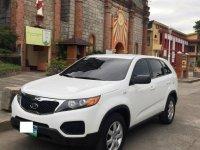 Selling Pearl White Kia Sorento 2012 in Bauang