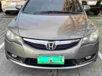 Silver Honda Civic 2009 for sale in Quezon City