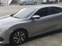 Selling Silver Honda Civic 2017 in Quezon City