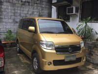Golden Suzuki APV 2009 for sale in Manila