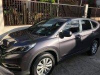 Silver Honda Cr-V 2017 for sale in Taytay