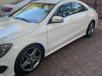 Pearl White Mercedes-Benz A-Class 2015 for sale in Manila