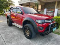 Selling Red Mitsubishi Strada 2013 in Cebu City