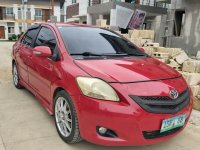 Red Toyota Vios 2008 for sale in Cebu
