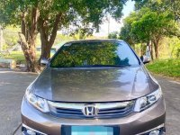 Selling Silver Honda Civic 2013 in Quezon City