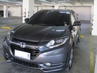 Grey Honda Hr-V 2015 for sale in Bonifacio