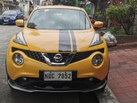 Yellow Nissan Juke 2017 for sale in Manila