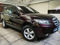 Purple Hyundai Santa Fe 2008 for sale in Quezon City