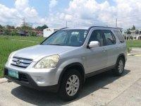Silver Honda Cr-V 2006 for sale in Manila