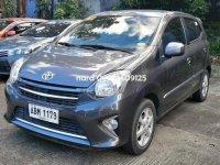 Grey Toyota Wigo 2016 for sale in Manila