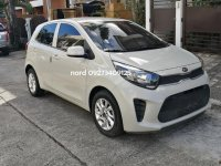 White Kia Picanto 2018 for sale in Quezon City