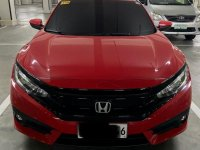 Red Honda Civic 2018 for sale in Quezon City