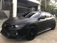 Black Honda Civic 2017 for sale in Quezon City