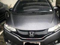 Black Honda Jazz 2015 for sale in Quezon City