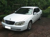 White Nissan Cefiro 2007 Sedan at 96000 km for sale
