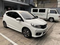 Pearl White Honda Brio 2019 for sale in Manila