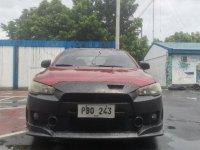 Red Mitsubishi Lancer 2010 for sale in Taguig