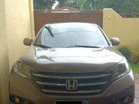 Silver Honda Cr-V 2013 for sale in Las Piñas