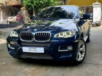 Selling Blue BMW X6 2016 in Quezon