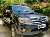 Black Toyota Fortuner 2008 for sale in Cebu