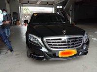 Selling Black Mercedes-Benz S-Class 2017 in Manila