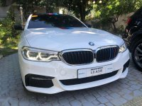 Pearl White BMW 520D 2018 for sale in Manila