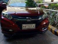 Red Honda Hr-V 2016 for sale in Manila