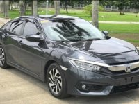 Silver Honda Civic 2017 for sale in Manila