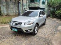 Silver Hyundai Santa Fe 2011 for sale in Makati City