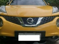 Selling Yellow Nissan Juke 2018 in Cebu City