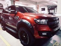 Red Ford Everest 2018 for sale in Manila