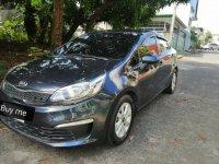 Black Kia Rio 2016 for sale in Quezon City